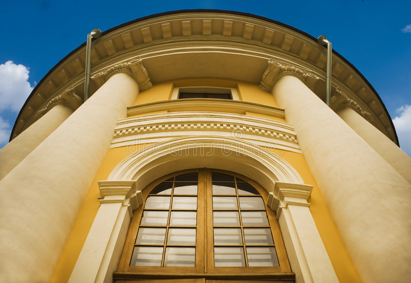 Download Columns Of A Classical Building Royalty Free Stock Photos - Image: 1412478