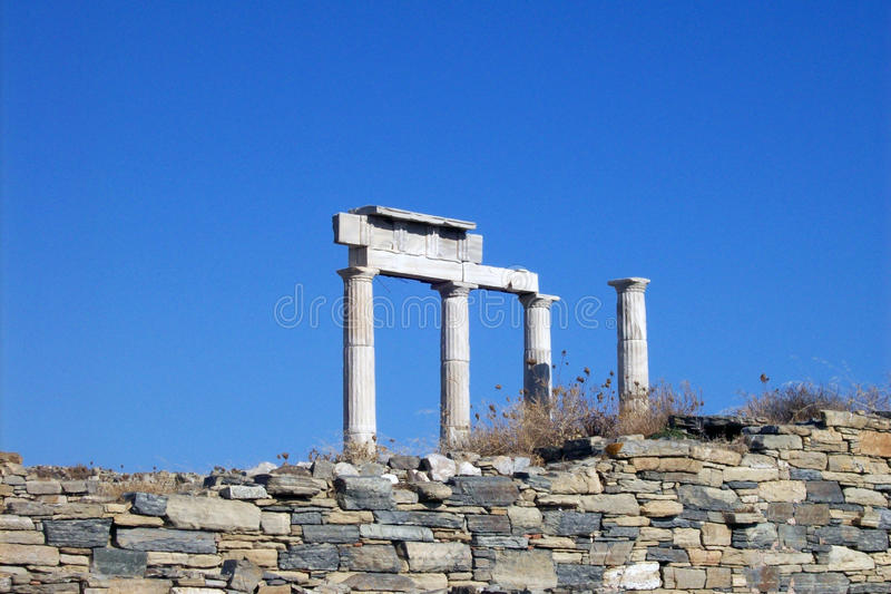 Download Columns In Delos. Stock Images - Image: 13257634