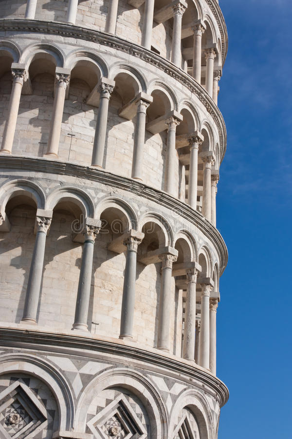 Download Columns Details Of Leaning Tower Of Pisa, Italy Royalty Free Stock Image - Image: 28221456