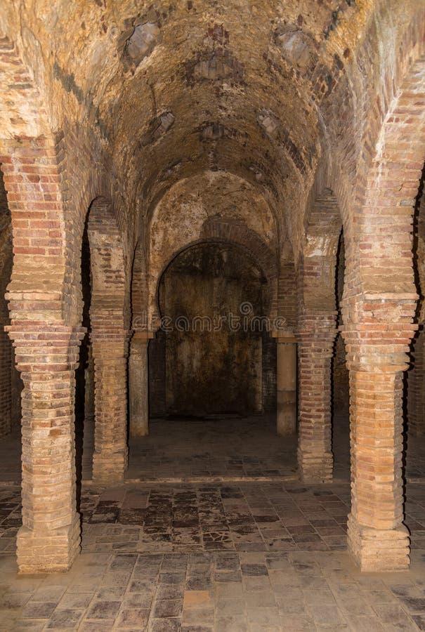 Columns in hammam banos arabes of ronda in spain editorial - Banos arabes hammam ...