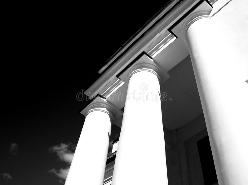 Download Columns II stock photo. Image of architecture, cloud, columns - 5174