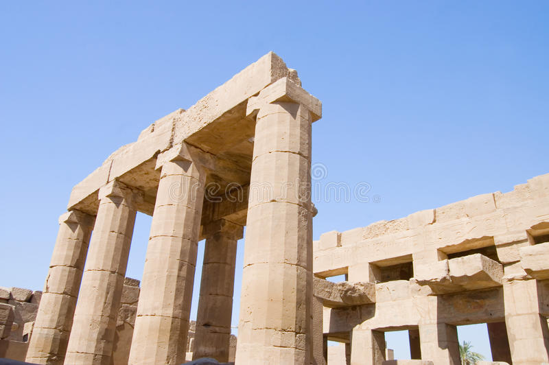 Download Columns At Karnak Temple, Luxor, Egypt Stock Photo - Image: 18205136