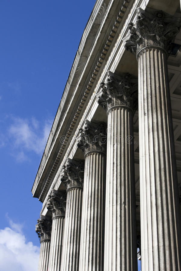 Download Columns Of National Portrait Gallery Stock Photo - Image: 25184432