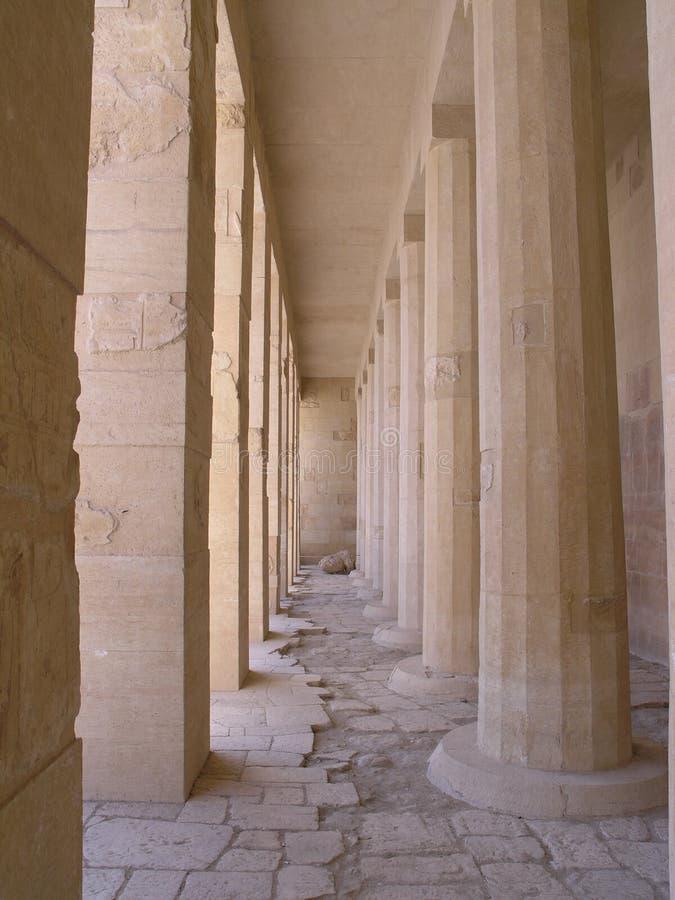 Columns and pillars stock photo