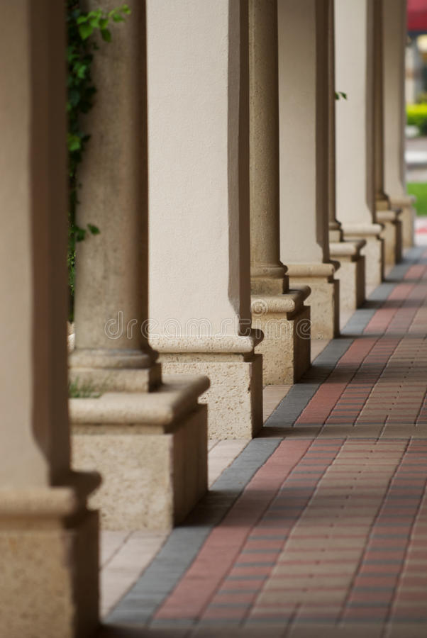 Download Columns And Shadows Royalty Free Stock Image - Image: 26678756