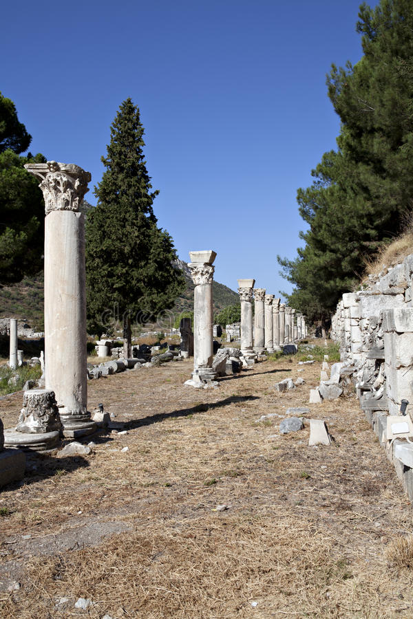 Download Columns In The Tetragonos Agora Stock Image - Image: 22653007
