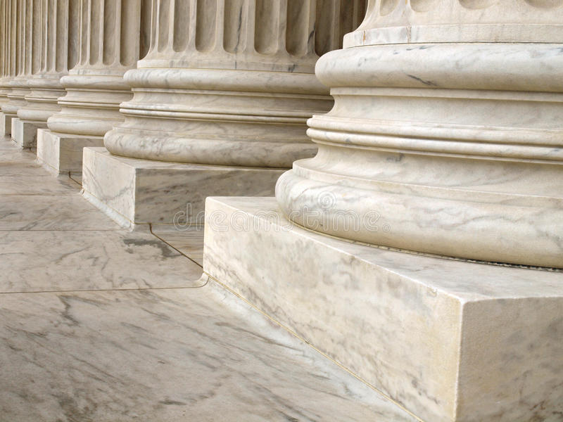 Download Columns At The United States Supreme Court Stock Image - Image: 19985981