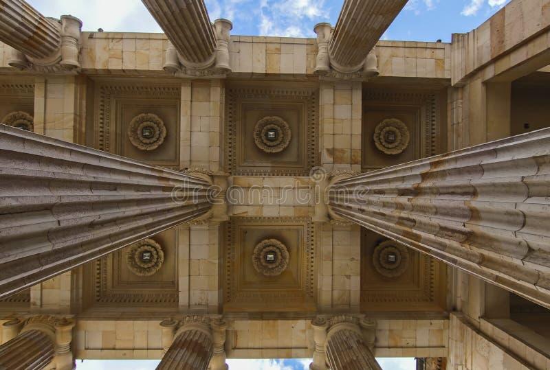 Columns royalty free stock photos