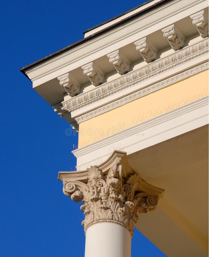 Columns, Wroclaw Opera. royalty free stock photos