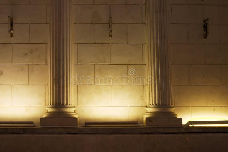 colums światło obraz royalty free