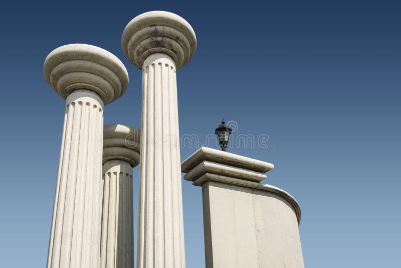 Colums stock afbeeldingen
