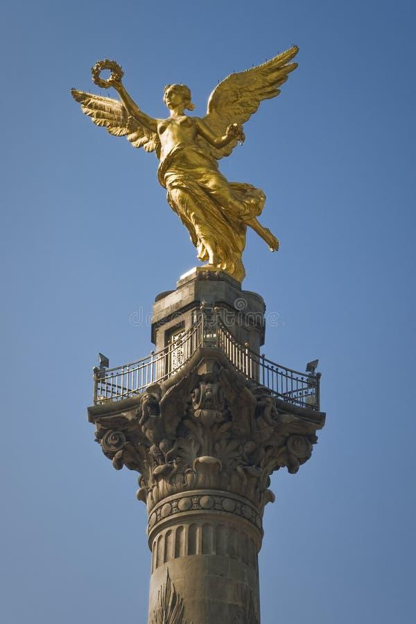 Coluna da vitória, México fotografia de stock