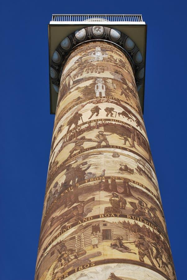 Coluna de Astoria foto de stock