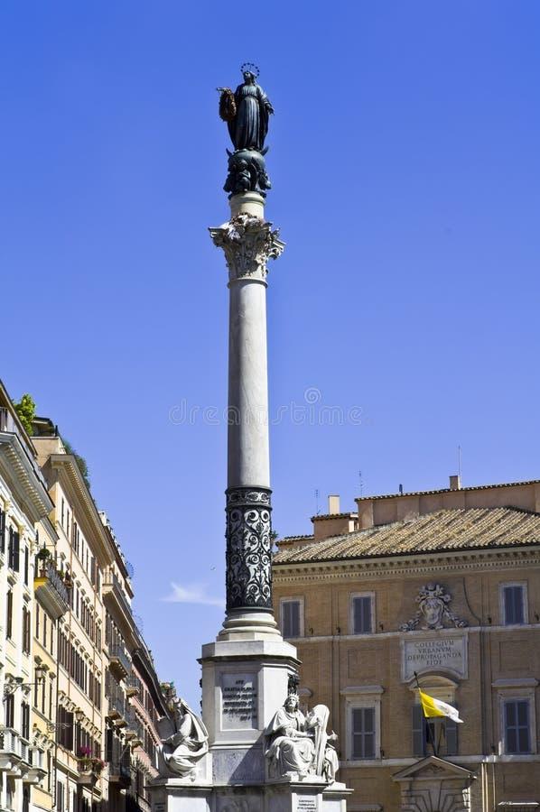 Coluna de Roma imagens de stock royalty free