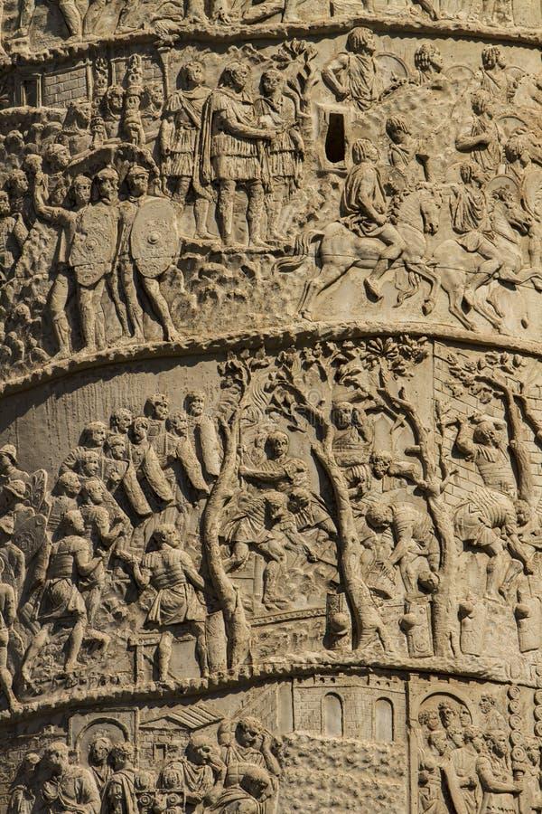 Coluna de Trajan foto de stock