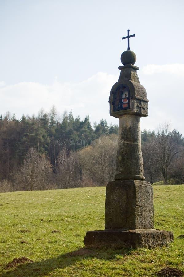 Coluna Devotional foto de stock