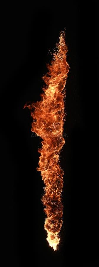 Coluna do incêndio imagens de stock