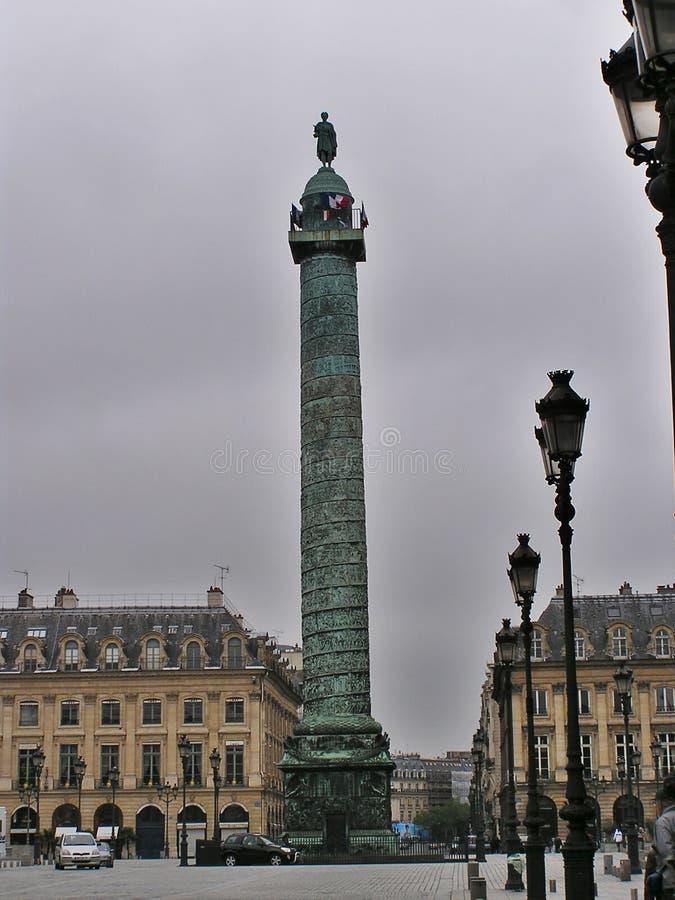 Coluna Do Lugar Vendome Fotografia de Stock Royalty Free