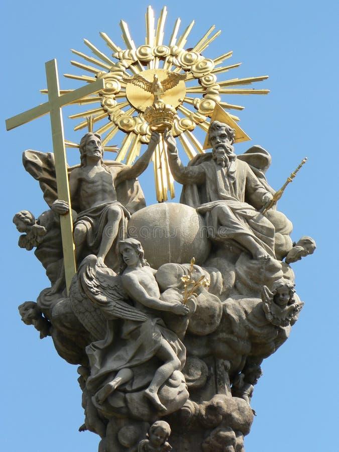 Coluna do praga da trindade imagens de stock royalty free