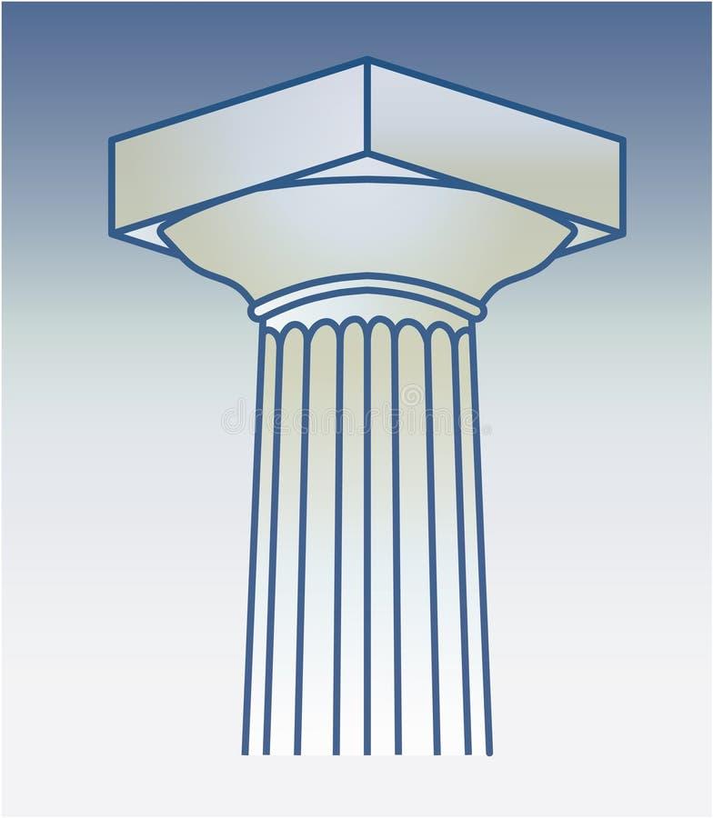 Coluna do vetor ilustração royalty free