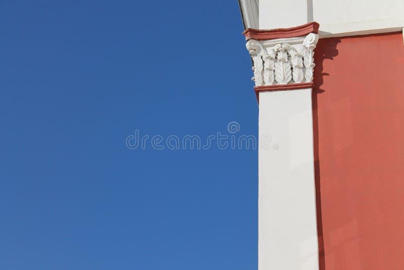 Coluna do whith da paisagem de três cores fotografia de stock royalty free