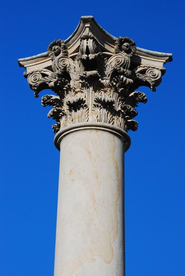 Coluna e capital históricos fotos de stock royalty free