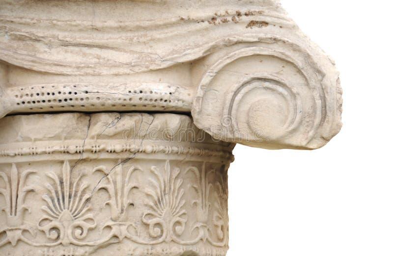 Coluna grega fotos de stock royalty free