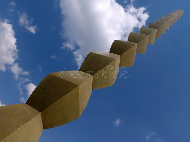 Coluna infinita #2 imagem de stock