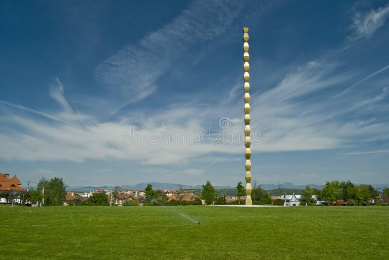 Coluna infinita Sculture fotos de stock royalty free