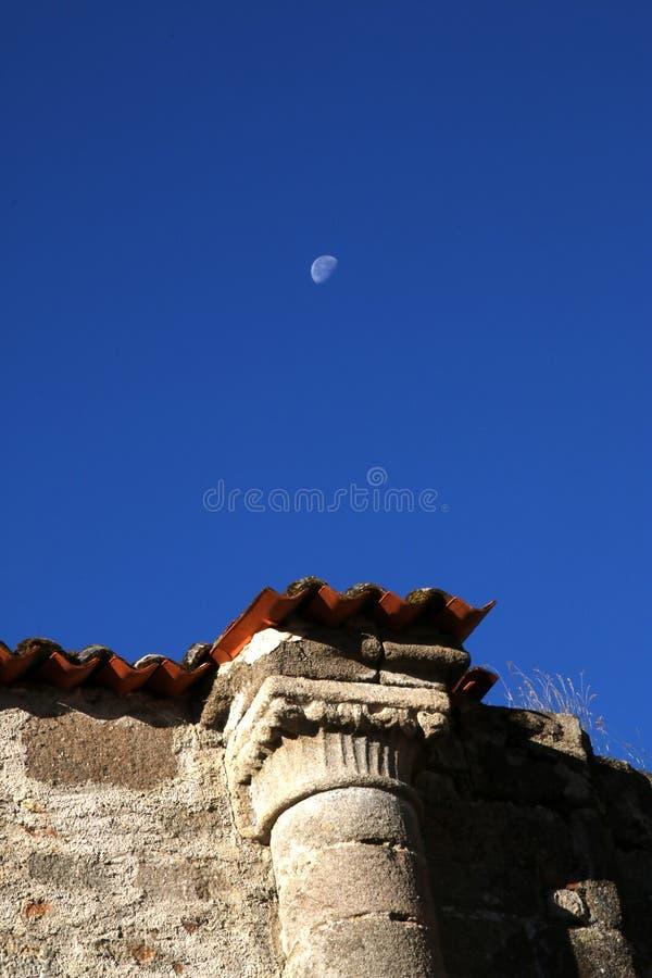 Coluna medieval, departamento de Haute-Vienne de Limousin fotos de stock royalty free