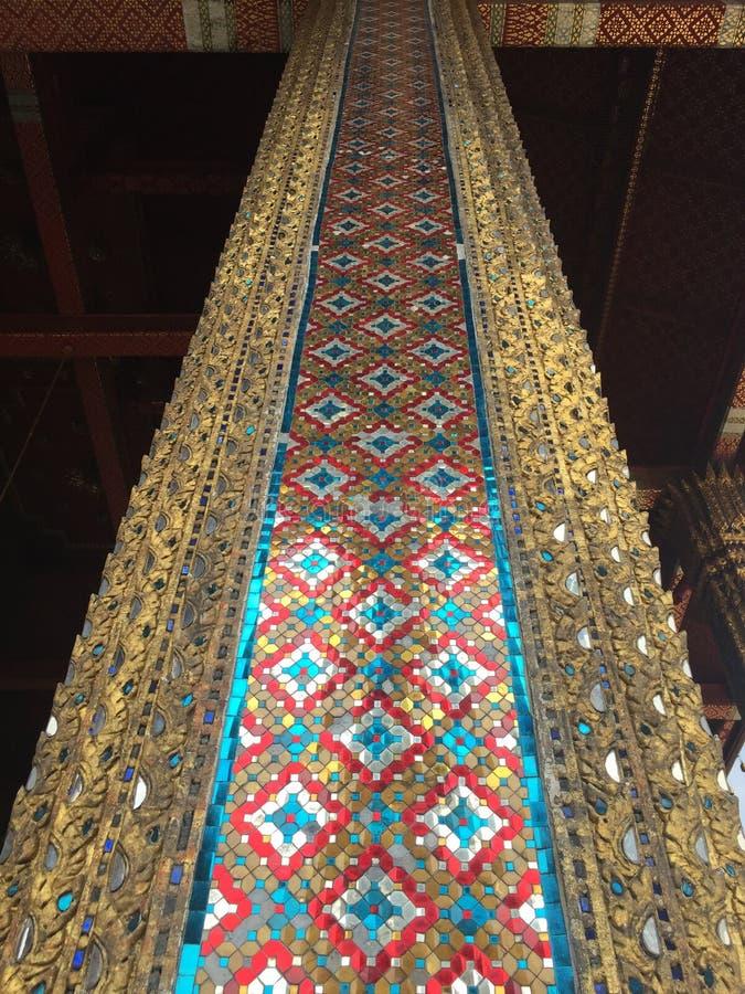 Coluna no palácio grande imagens de stock