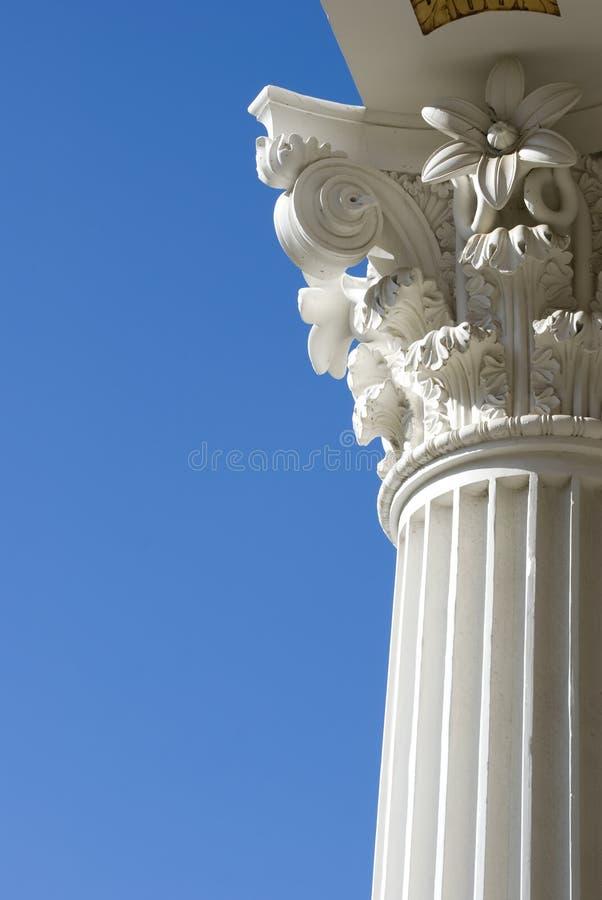 Coluna romana imagem de stock