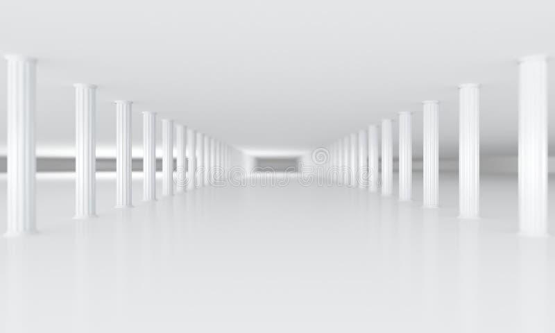 Colunas ilustração do vetor