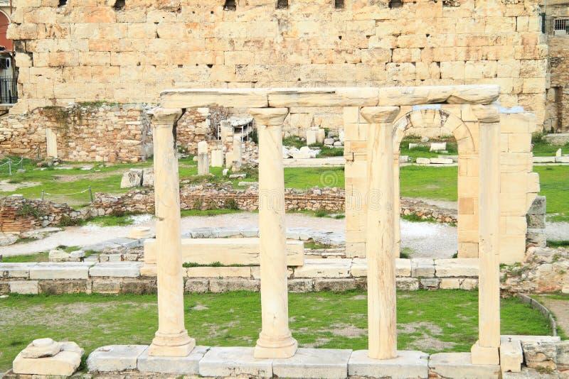 Colunas Antic fotografia de stock royalty free