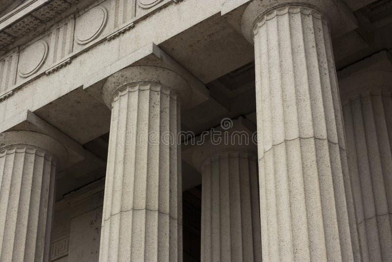 Colunas arquitectónicas foto de stock