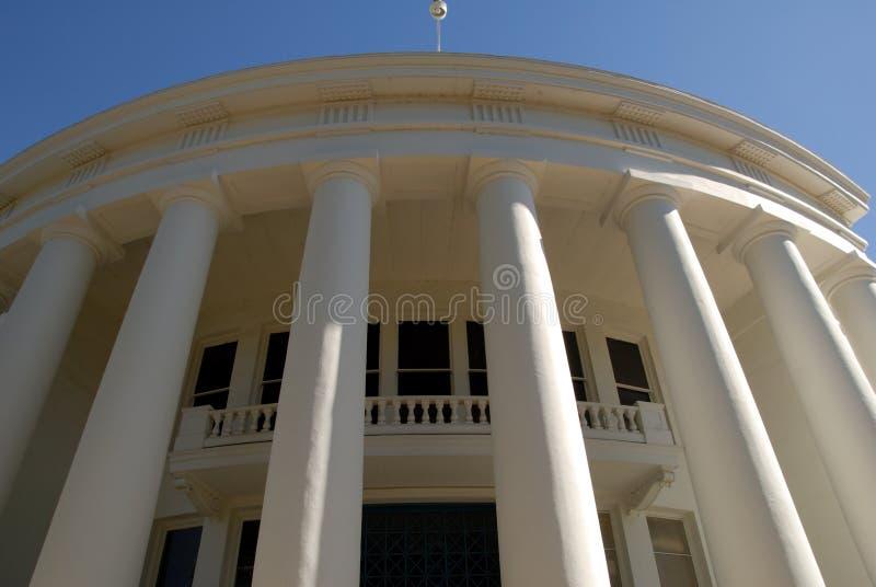 Colunas brancas imagem de stock royalty free