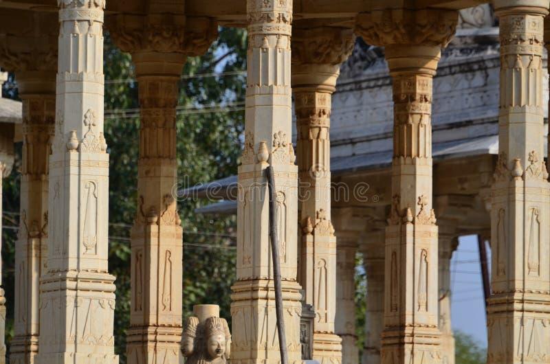 Colunas cinzeladas fotos de stock royalty free