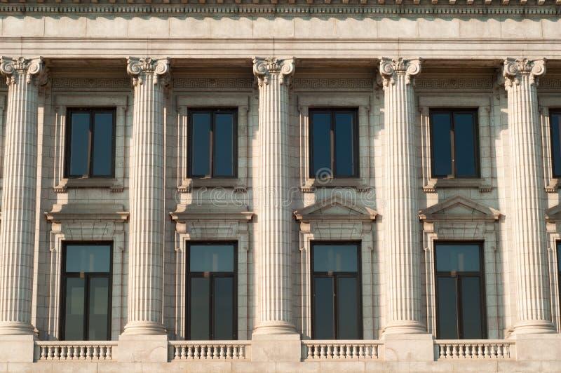 Colunas clássicas fotografia de stock royalty free