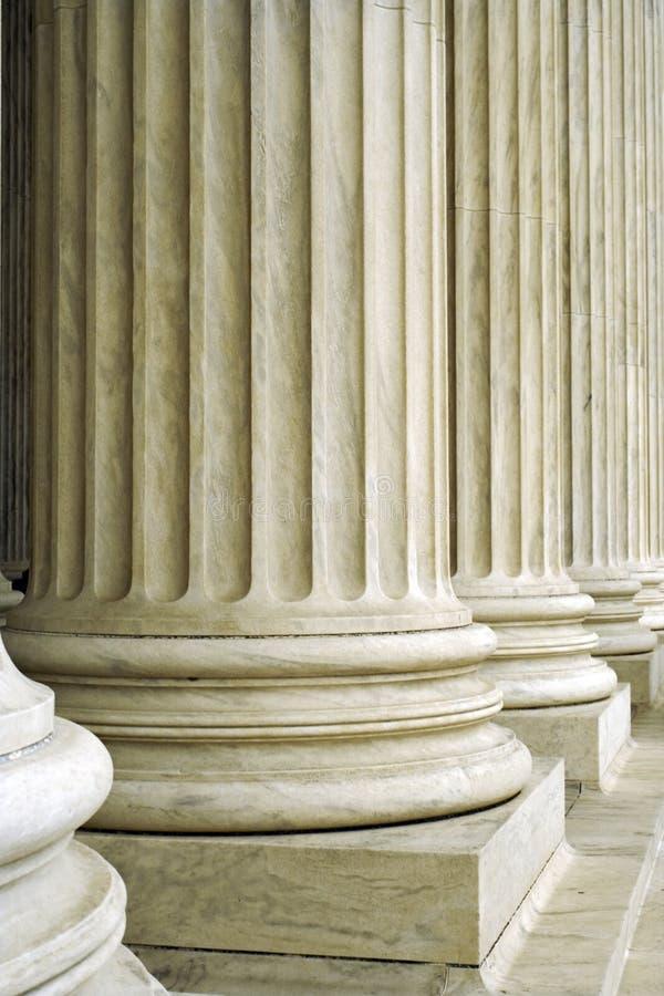 Colunas da arquitetura imagem de stock