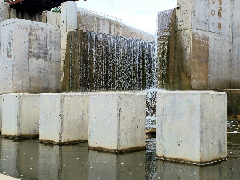 Colunas da rocha fotografia de stock