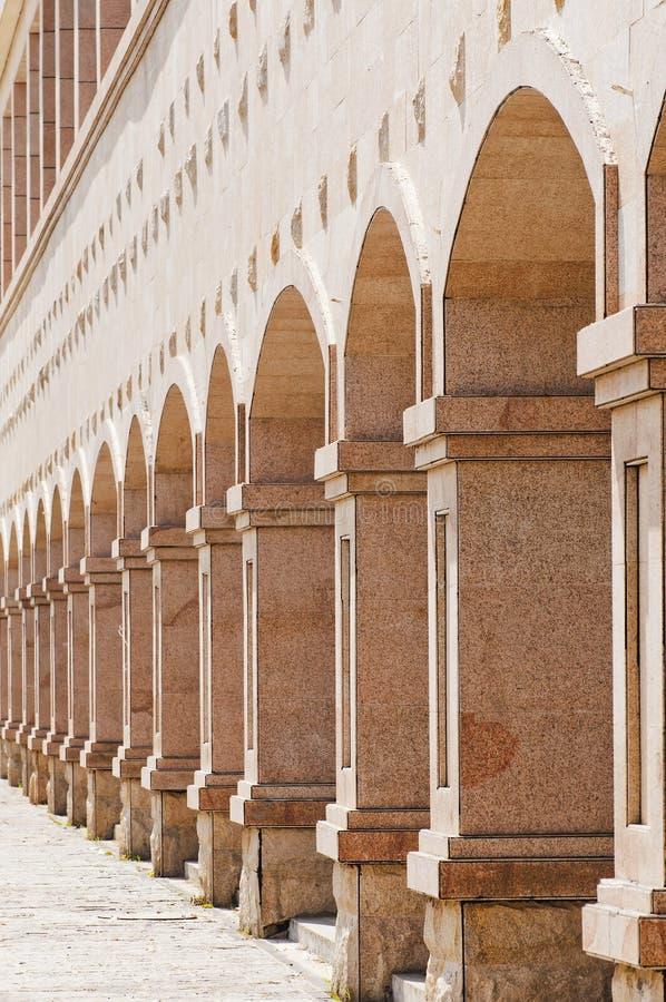 Colunas de pedra imagem de stock royalty free