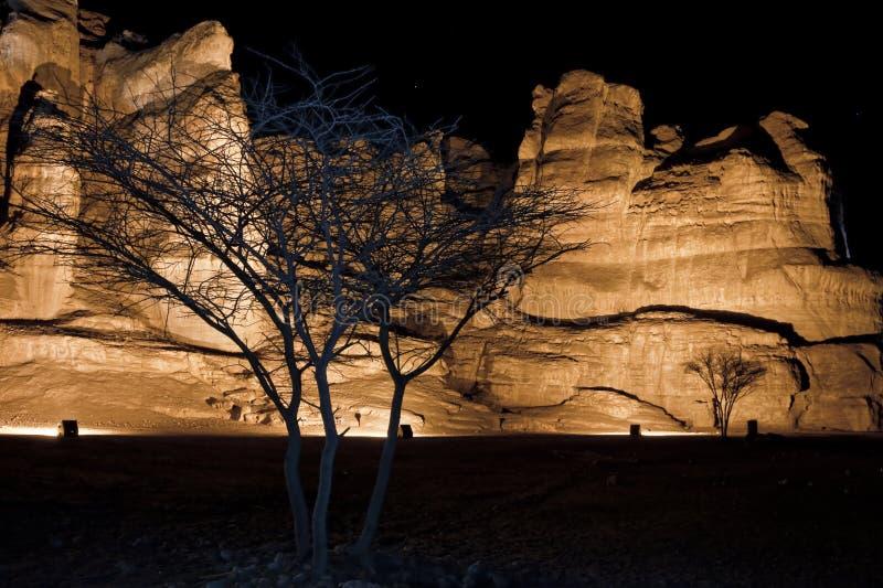 Colunas de Solomon do parque de Timna fotografia de stock royalty free