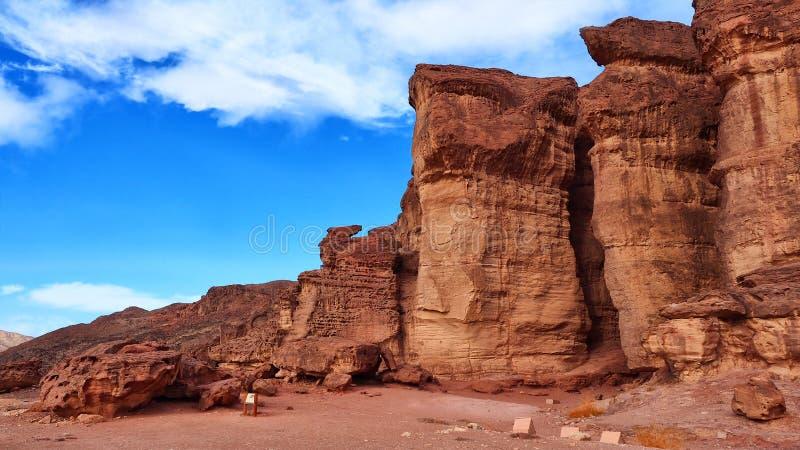 Colunas de Solomons fotos de stock