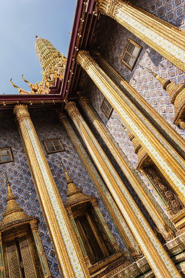 Colunas de Ubosot imagem de stock royalty free