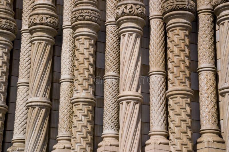 Colunas do interesse imagem de stock royalty free