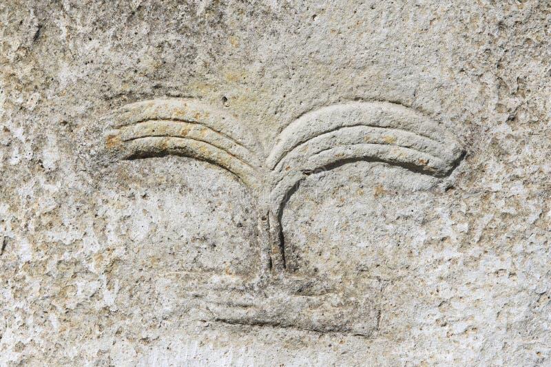 Colunas megalíticas misteriosas de Tiya, local do patrimônio mundial do UNESCO, Etiópia fotografia de stock