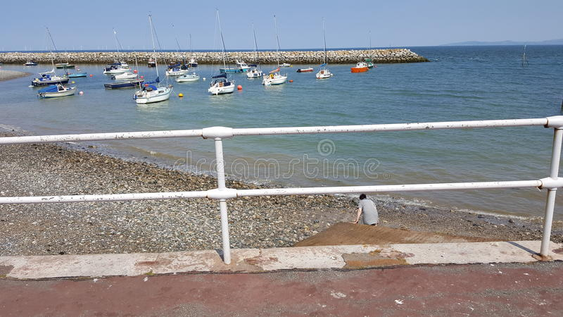 Colwyn bay royalty free stock images