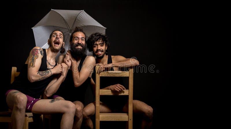 Comédie au cirque photographie stock libre de droits