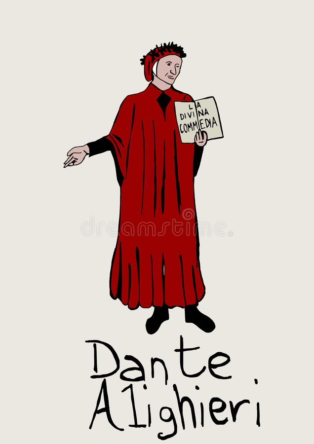 Comédie divine de Dante Alighieri