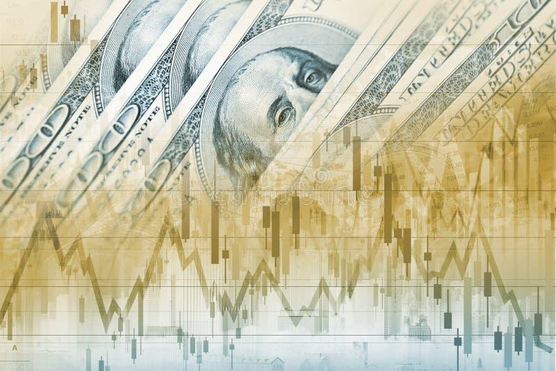 Comércio dos estrangeiros dos dólares de América fotos de stock royalty free